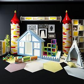 积木玩具组合模型