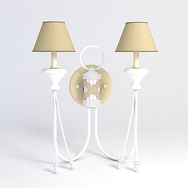 简约壁灯模型