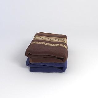 毛巾3d模型