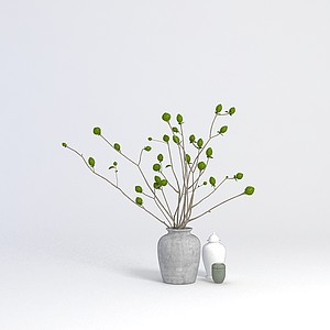 3d<font class='myIsRed'>花瓶</font>陳設品模型