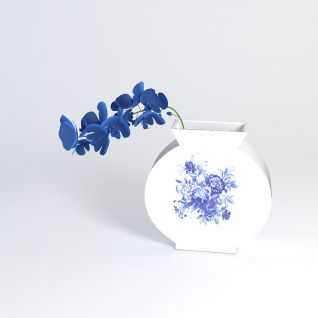 青花瓷花瓶3d模型