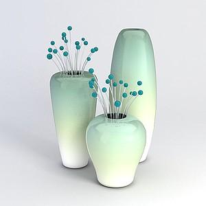 花瓶装饰品模型