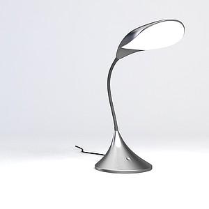 现代时尚台灯模型