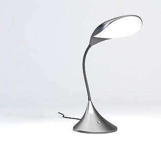 现代时尚台灯3d模型