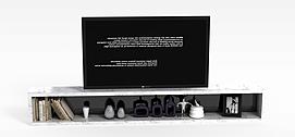 大理石电视柜电视组合3D模型