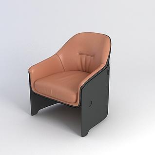 沙发椅3d模型