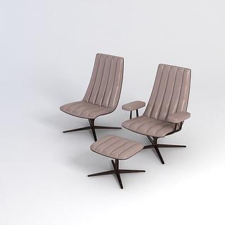 电脑椅3d模型