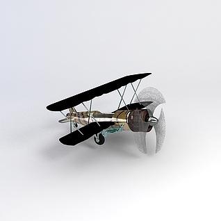 飞机3d模型3d模型