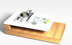 客厅茶几模型3d模型