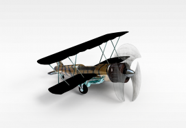 3d<font class='myIsRed'>飞机</font>模型