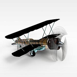 飞机模型3d模型