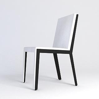 简约单椅3d模型