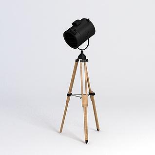 射灯模型3d模型