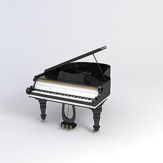 钢琴3d模型3d模型