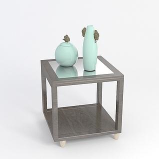 现代桌子3d模型
