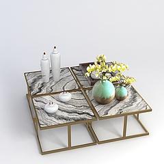 简约桌子模型3d模型