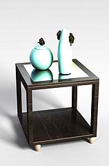 现代桌子模型3d模型