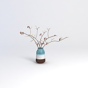 精美花藝花瓶模型3d模型