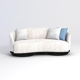 小型沙发3d模型3d模型