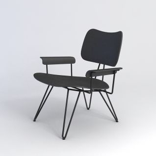 现代简约椅子3d模型