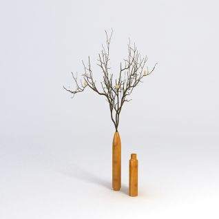 3D盆景花艺3d模型