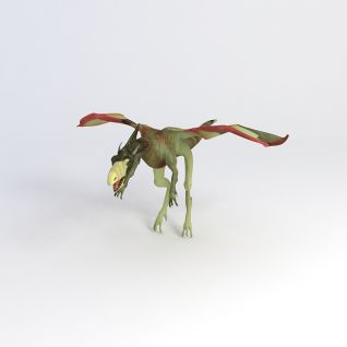 翼龙恐龙模型3d模型