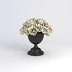 花艺花瓶模型3d模型