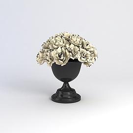 3d花艺<font class='myIsRed'>花瓶</font>模型