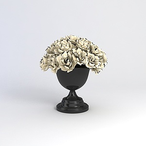 花藝花瓶模型3d模型