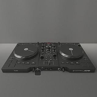 打碟机3d模型