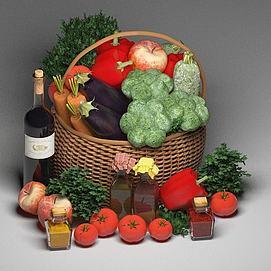 蔬菜篮子模型