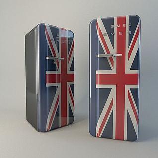 冰箱3d模型