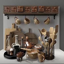 厨房用具模型