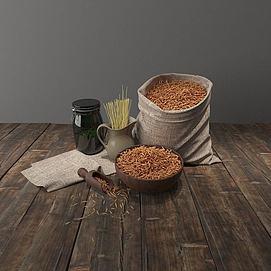 布袋米模型