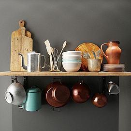 锅碗瓢盆模型