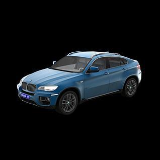 宝马X63d模型3d模型