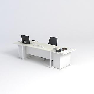 办公桌子3d模型