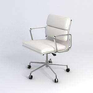 高档女士办公椅模型