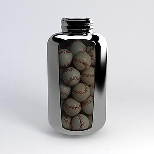 棒球3d模型3d模型