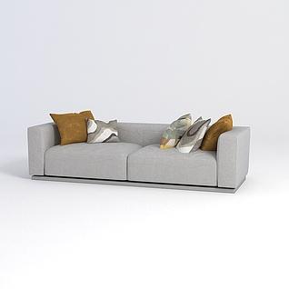 客厅沙发3d模型3d模型