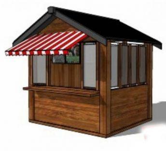 中式售卖亭