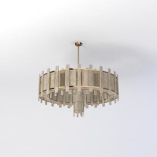 客厅吊灯3d模型3d模型