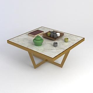 方茶几3d模型
