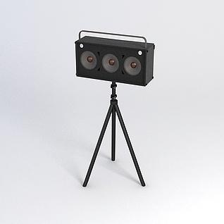 追光灯3d模型3d模型