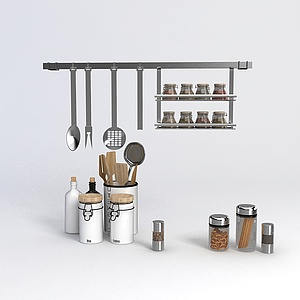 厨房器具模型