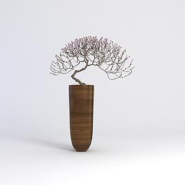 盆栽花卉3D模型