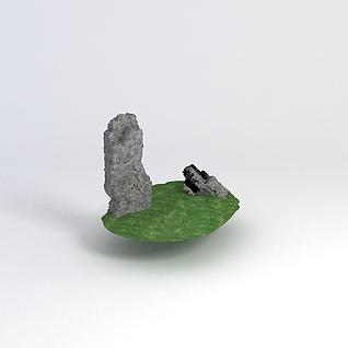 假山石3d模型