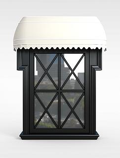 窗户模型3d模型