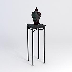 花幾花瓶組合模型3d模型