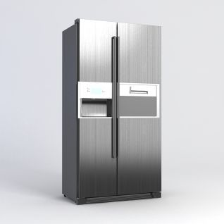 高级冰箱3d模型